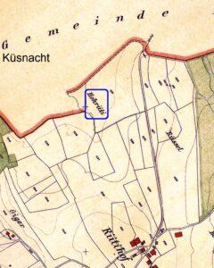 Karte 1922 Hohrüti-Hochrüti-Rütihof