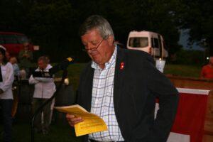 Einführung durch Walter Wittmer - 1. August 2008