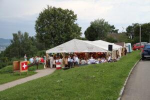 Festzelt - 1. August 2010