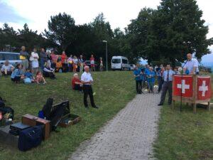 Toni Peterer, Joel Gieringer, Rolf Siegenthaler - 1. August 2019