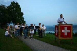 Gemeindepräsident Gaudenz Schwitter - 1. August 2012