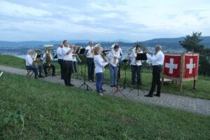 Engagierter Musikverein Herrliberg - 1. August 2016
