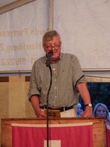 Einführung Gemeindepräsident Walter Wittmer - 1. August 2015