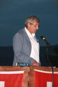 Redner Vizegemeindepräsident Ernst Frei - 1. August 2017