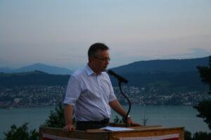 Redner Gaudenz Schwitter - 1. August 2012
