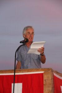 Redner Hansruedi Huber - 1. August 2014