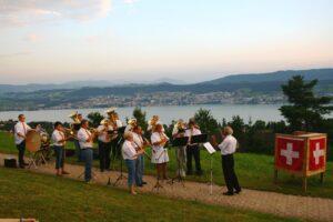 Musikverein Nationalhymne - 1. August 2012