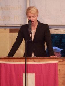 Rednerin Nationalrätin Natalie Rickli - 1. August 2015
