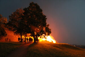 Das Feuer greift um sich - 1. August 2010