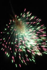 Feuerwerk - 1. August 2014