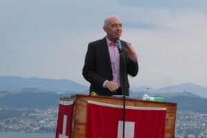Redner Ständerat Daniel Jositsch - 1. August 2018