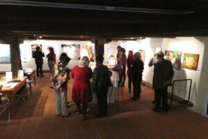 Besucher - Herrliberger Kunstwoche 2017