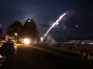 Höhenfeuer um 22 Uhr 1.August 2020