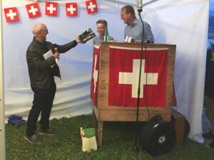 Franco & Nico Straub und Toni Peterer 1. August 2021